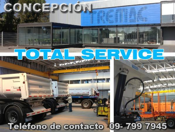 TOTAL SERVICE - CONCEPCIÓN Atención Personalizada